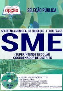 Apostila seleção pública SME Fortaleza
