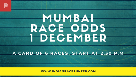 Mumbai Race Odds 1 December