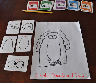 Teach kids how to draw cartoons art activity