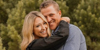 Cameron Champ With His Wife