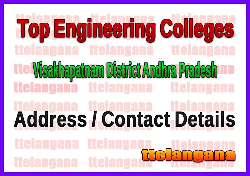 Top Engineering Colleges in Visakhapatnam District Andhra Pradesh