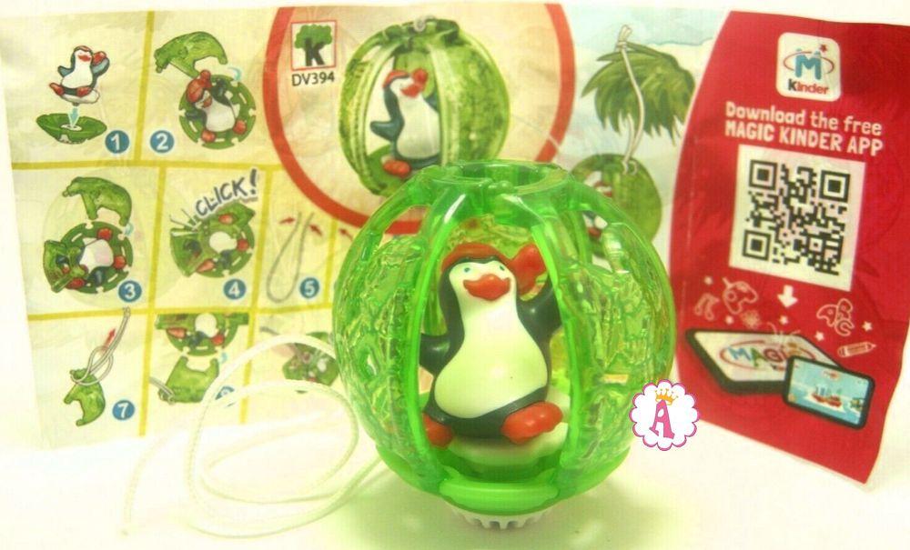 Пингвин в елочной игрушке Kinder Surprise DV394