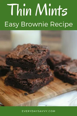 Thin Mints Easy Brownie Recipe, Donna's pick!