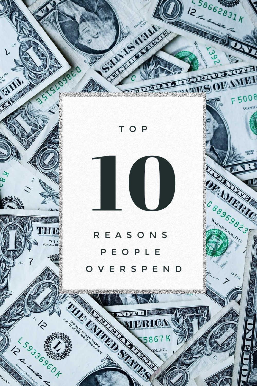 top reasons people overspend