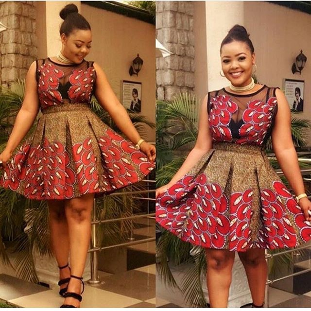 Stylish And Trending Short Flare Gown For Beautiful Ladies