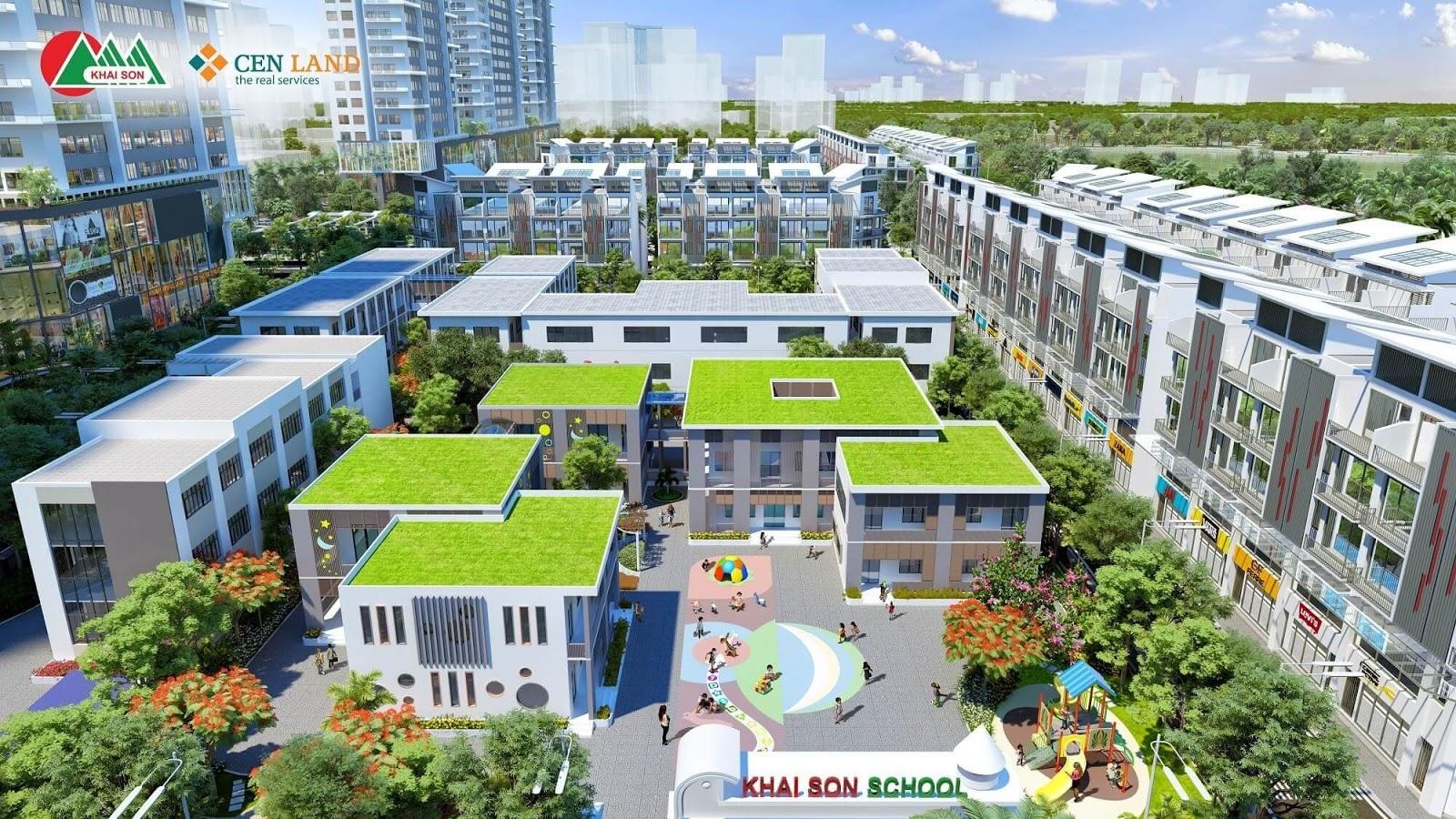 Dự án Khai Sơn City!