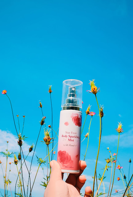 Stay Fresh Body Sparkling Mist By Althea x Titi Kamal