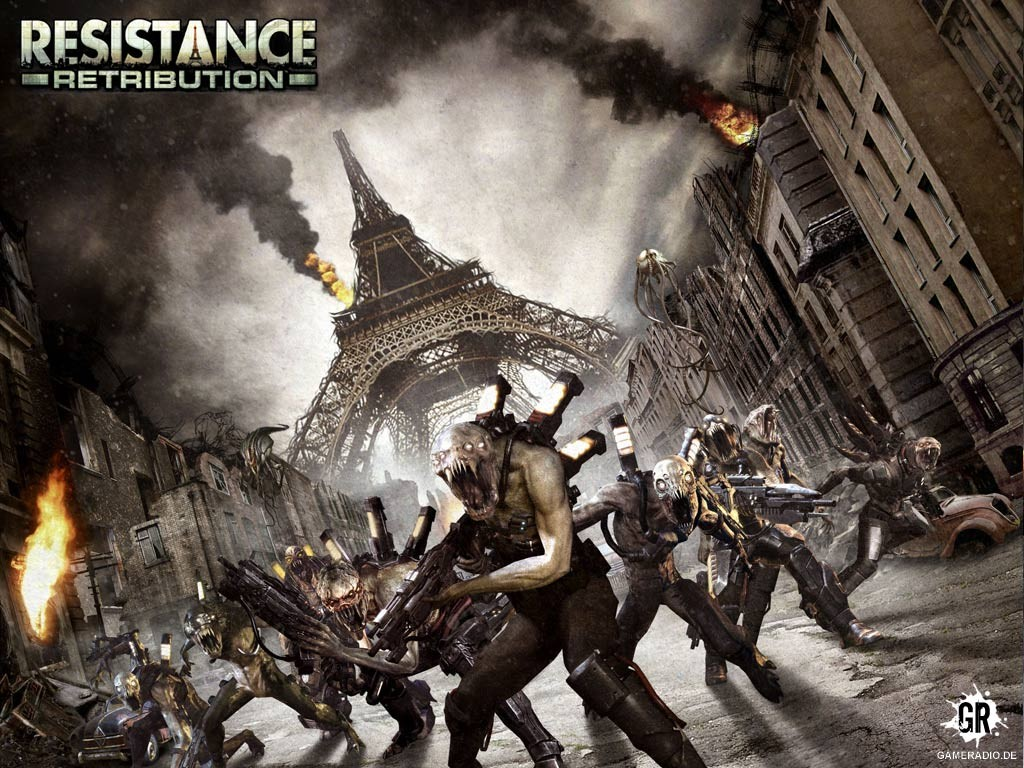 Fall Sunshine Wallpaper Download Resistance Retribution Psp Iso Cso Senpaigame