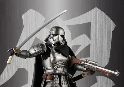 Star Wars Captain Phasma Meisho Movie Realization Action Figures