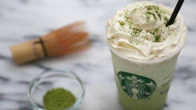 Resepi Mudah Green Tea Frappuccino Ala Starbucks