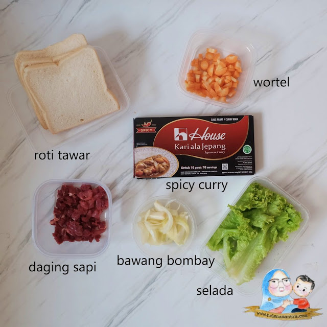 house kari ala jepang spicy