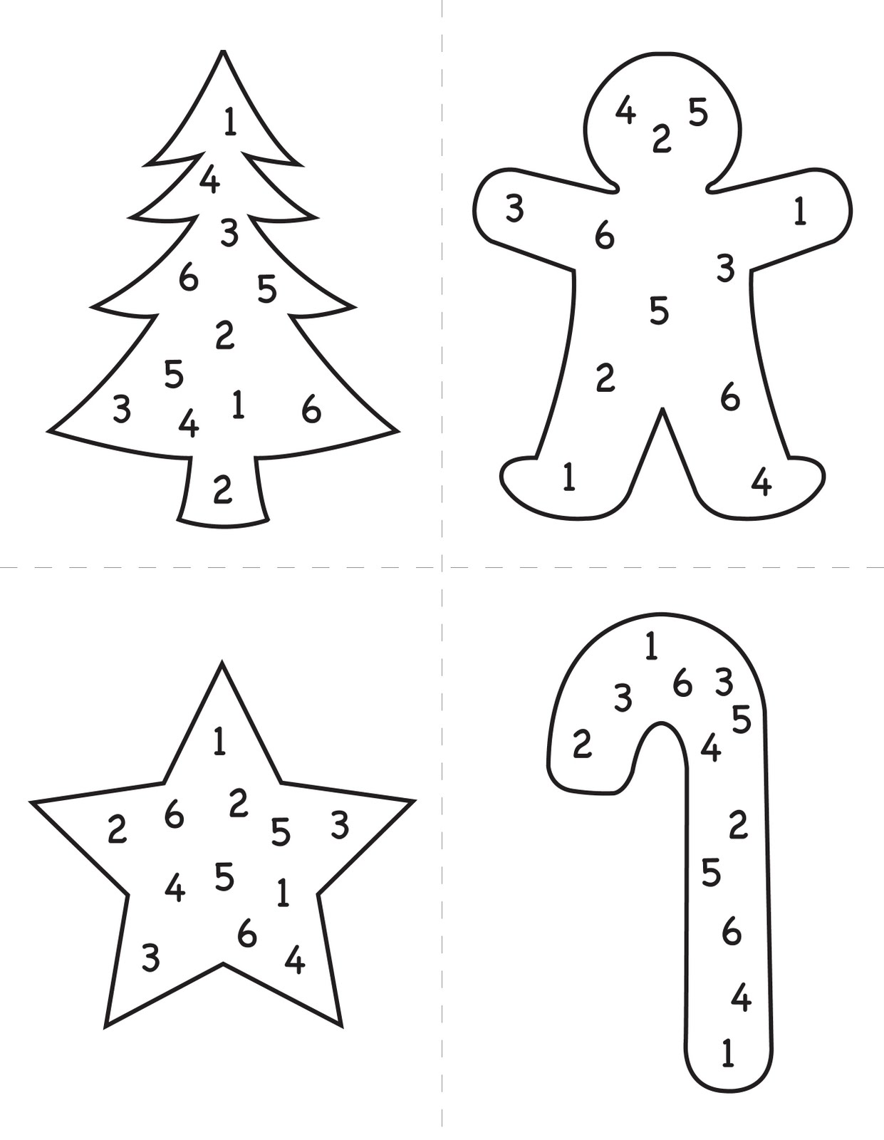 The Blue Basket Christmas Dice Game
