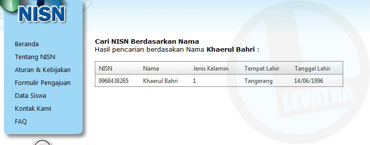 Cara Mencari NISN Siswa/i Melalui Internet dengan Mudah