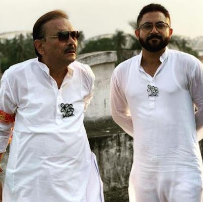 MAdan Mitra with soham