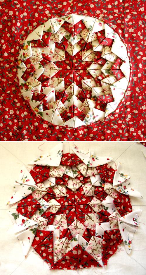 Folded Star Cushion