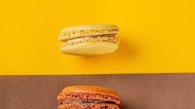 HD Wallpaper Colorful Macarons, Cookies, Dessert