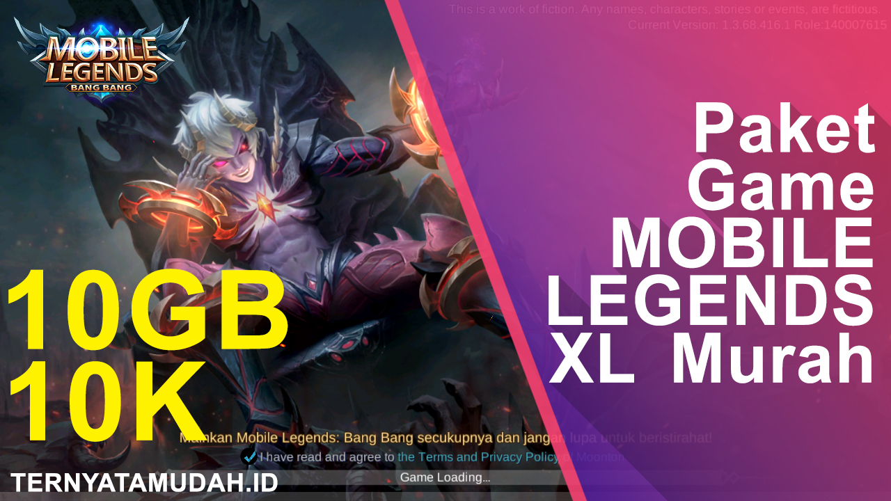 Paket Game MOBILE LEGENDS XL Murah