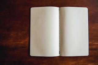 Blank Book Photo by Markus Spiske on Unsplash