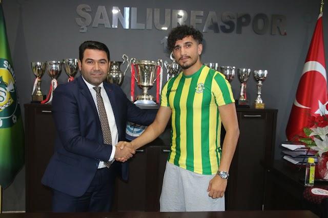 Bozovalı futbolcu Urfsapor'dan ayrıldı