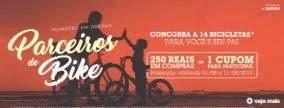 Promoção Canoas Shopping Dia dos Pais 2019 - 14 Bicicletas
