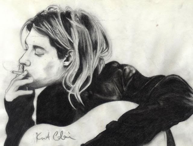 Tak zmarł Kurt Cobain.