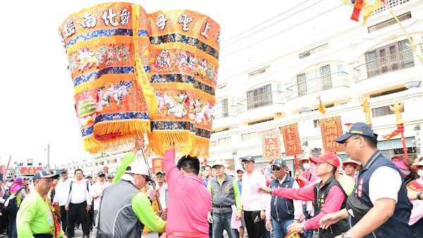 南瑤宮笨港進香特殊儀式 接貳香與對龍銀、換娘傘