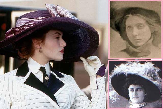 Rose no filme e Beatrice Wood e Edith Evans