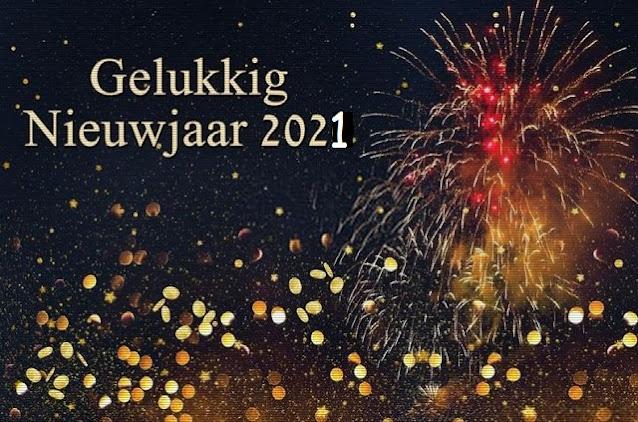 Gelukkig Nieuwjaar 2021 Afbeeldingen