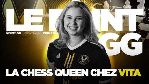 Andreea Navrotescu, joueuse d'échecs pro