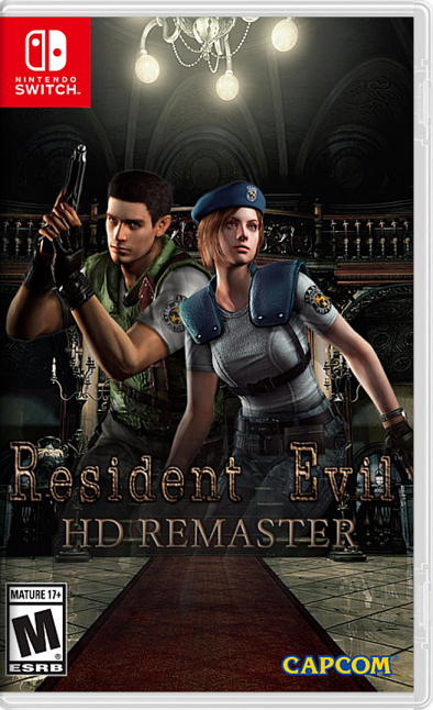 Resident Evil HD XCI/NSP Switch