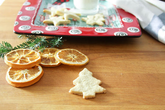 Simple Food: Holiday Butter Cookies