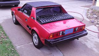 1986 Bertone X 1/9 back