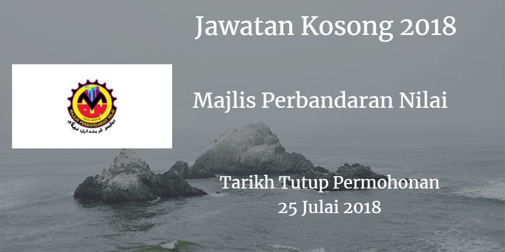 Jawatan Kosong MPN 25 Julai 2018