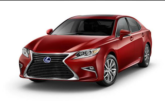 2017 Lexus ES 300h Review