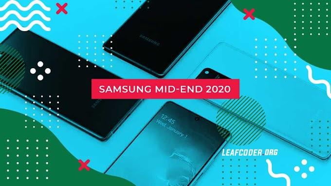 5 Rekomendasi Smartphone Middle End Samsung 2020