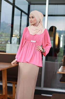 Model baju casual muslim
