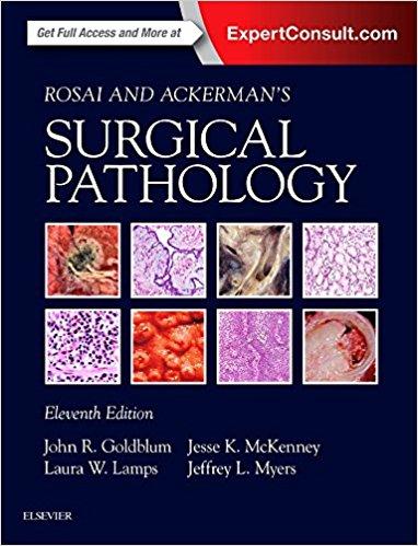 Rosai và Ackerman Giải phẫu bệnh Ngoại khoa 11/e, Toàn tập