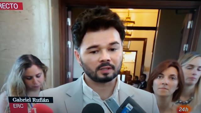 Gabriel Rufian exige exige explicaciones al CNI sobre el atentado de Las Ramblas