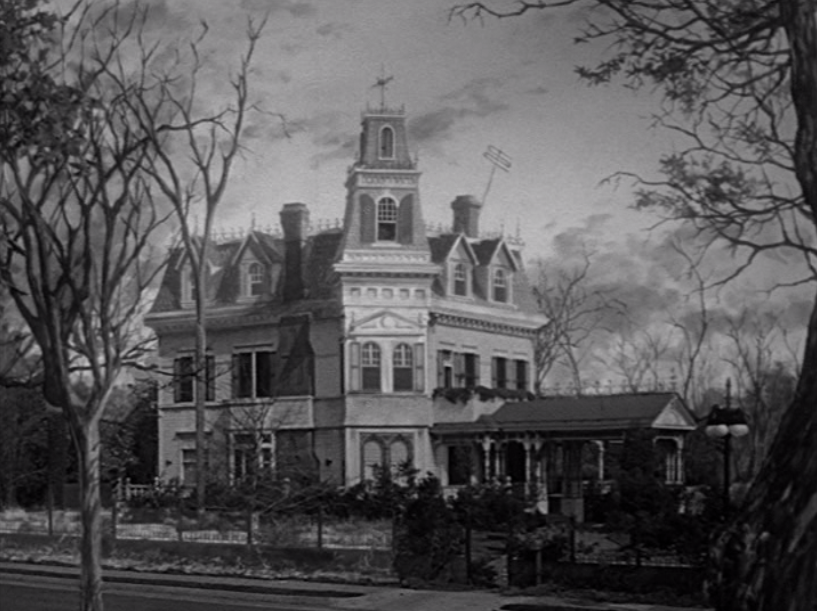 the mansion of the addams family.