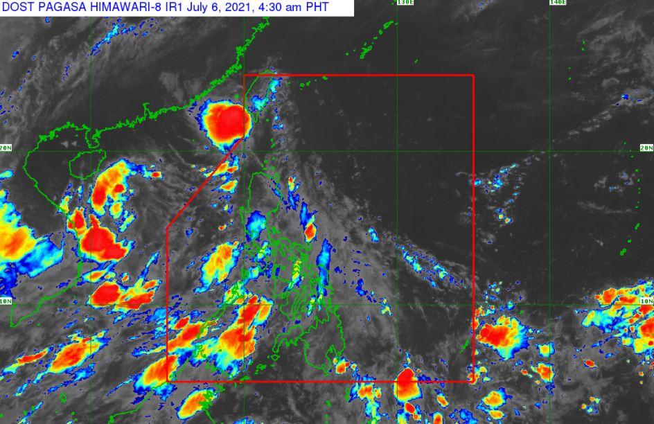 'Bagyong Emong' PAGASA weather update July 6, 2021