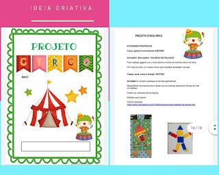 Atividades BNCC Circo - Educação Infantil