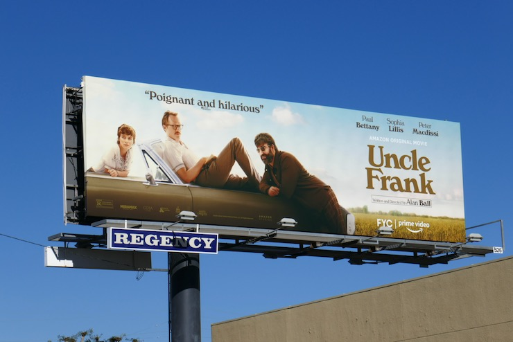 Uncle Frank film billboard
