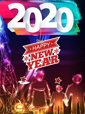 happy new year wallpaper happy new year 2020 saying