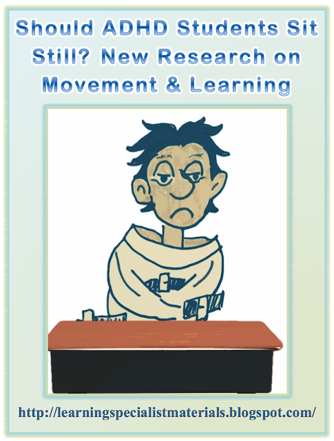 Movement helps learning