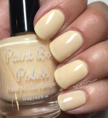 Paint Box Polish, Ciao, Gelato! collection, Spring 2016; Melone