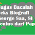 Tugas Bacalah Teks Biografi George Saa, SI Jenius dari Papua