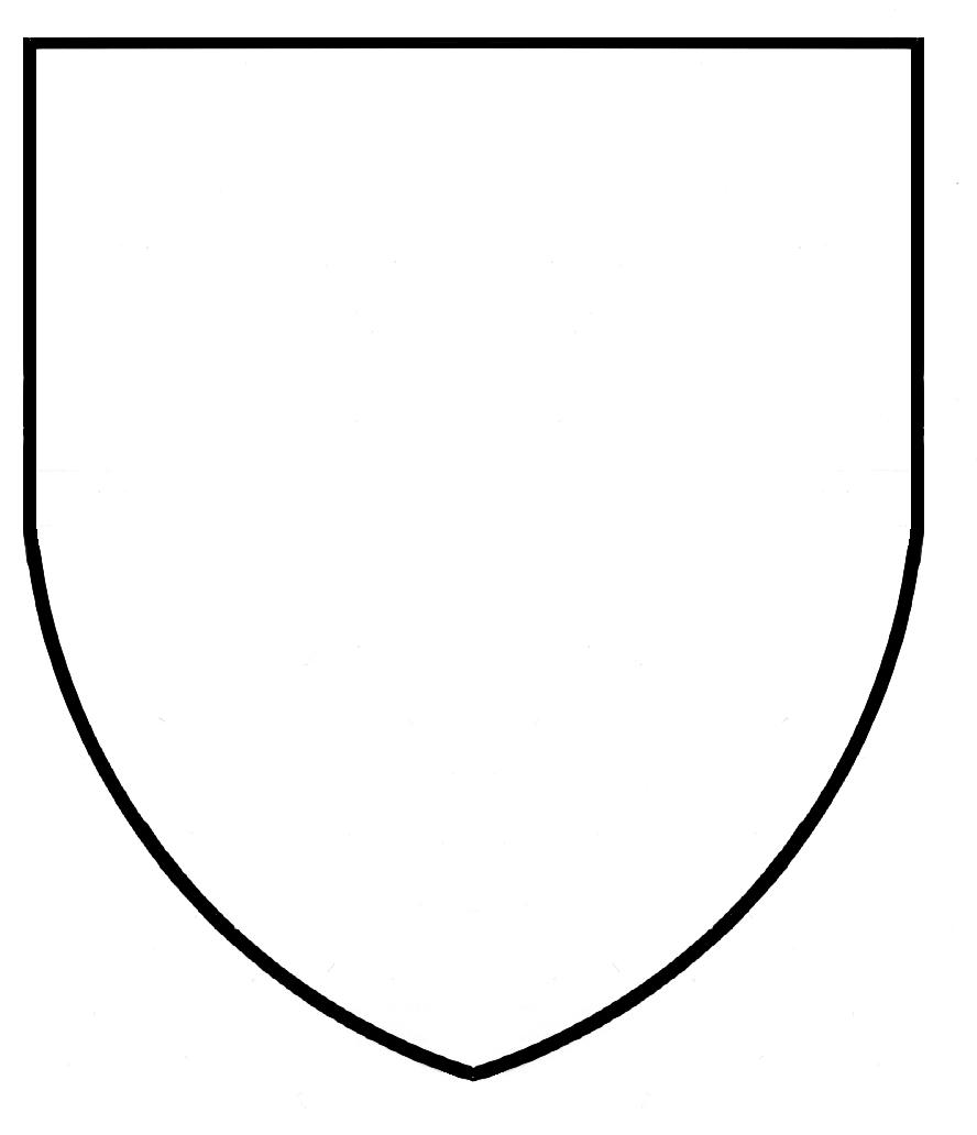blank shield template printable - mobile blank coat of arms coloring pages coloring pages