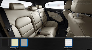 Nội thất Mercedes GLA 200 2015 màu Xám Crystal 108