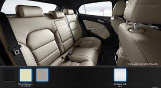 Nội thất Mercedes GLA 200 2016 màu Xám Crystal 108
