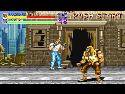 Final Fight arcade: Cody in azione